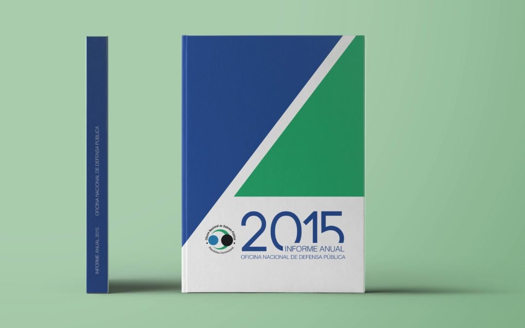 Diagramación Informe anual 2017   Oficina Nacional de Defensa Pública
