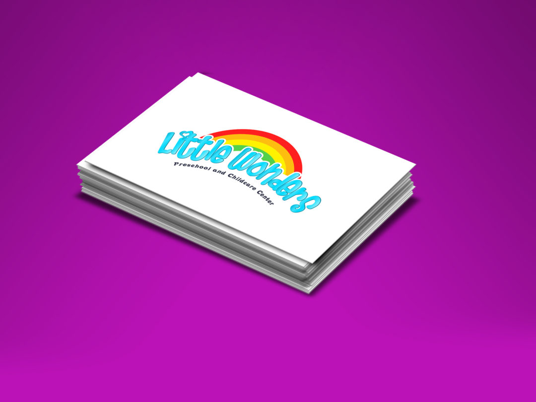 Diseño Logo Little Wonders | Cliente: Preschool Little Wonders