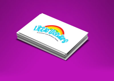 Diseño Logo Little Wonders | Cliente: Preschool Little Wonders