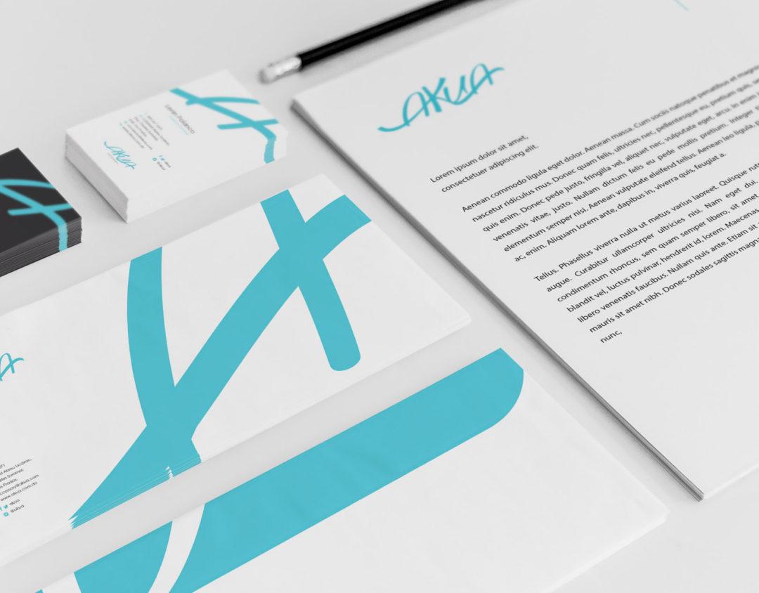 Creación Línea Gráfica Akua | Cliente: Akua