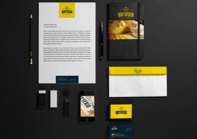 Diseño Línea Gráfica | Cliente: La Quesería