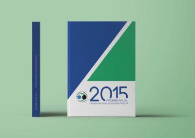 Diagramación Informe anual 2017 | Oficina Nacional de Defensa Pública