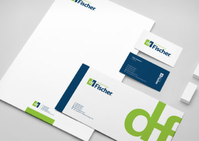 Rediseño Línea Gráfica Distribuidora Fisher | Cliente: Distribuidora Fisher