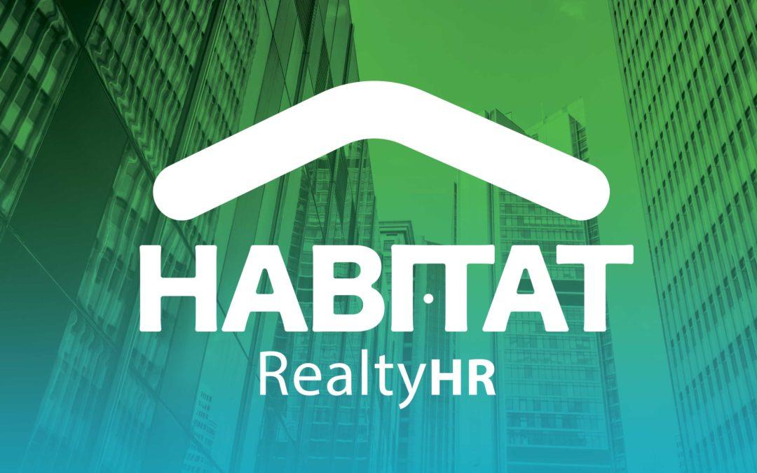 Diseño Logo Habitad Realty HR